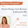 Artwork for Selfcare Session: Human Design meets Business & ätherische Öle (Teil 2)