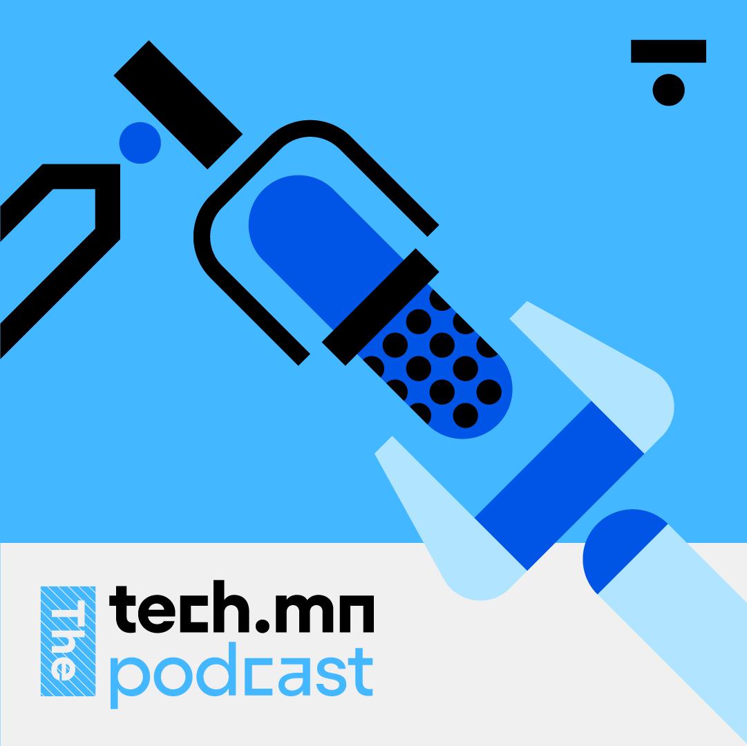 The tech.mn Podcast show art