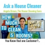 Artwork for How Much to Clean 5 Rooms? Homeowners Price Shop House Cleaning