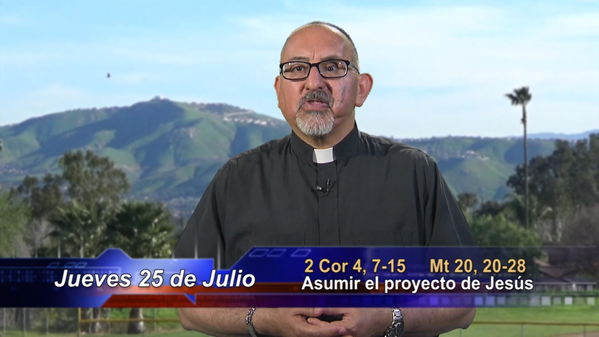 Artwork for Dios te Habla con Fr. Roberto Flores, SVD; El tema: Asumir el proyecto de Jesús.