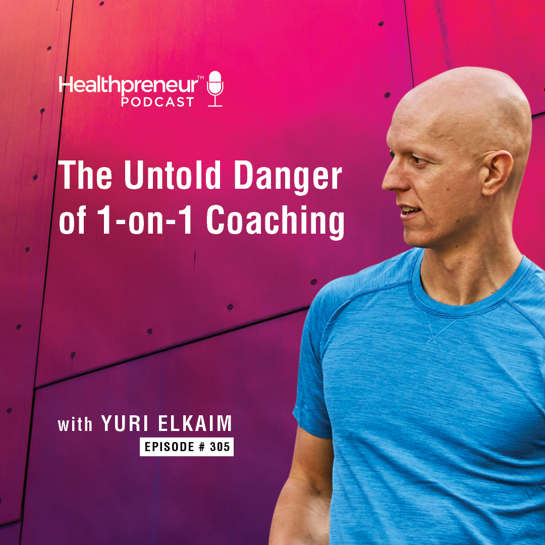 305 - Untold Danger of 1 - on 1 Coaching show art