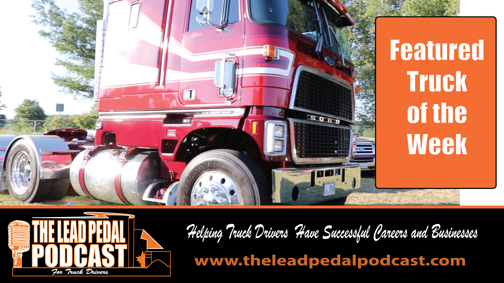 LP627 Featured Truck of the Week-Ford CL9000 Cabover