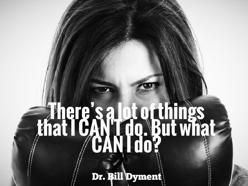"""Do What You CAN Do"" with Dr. Bill Dyment"