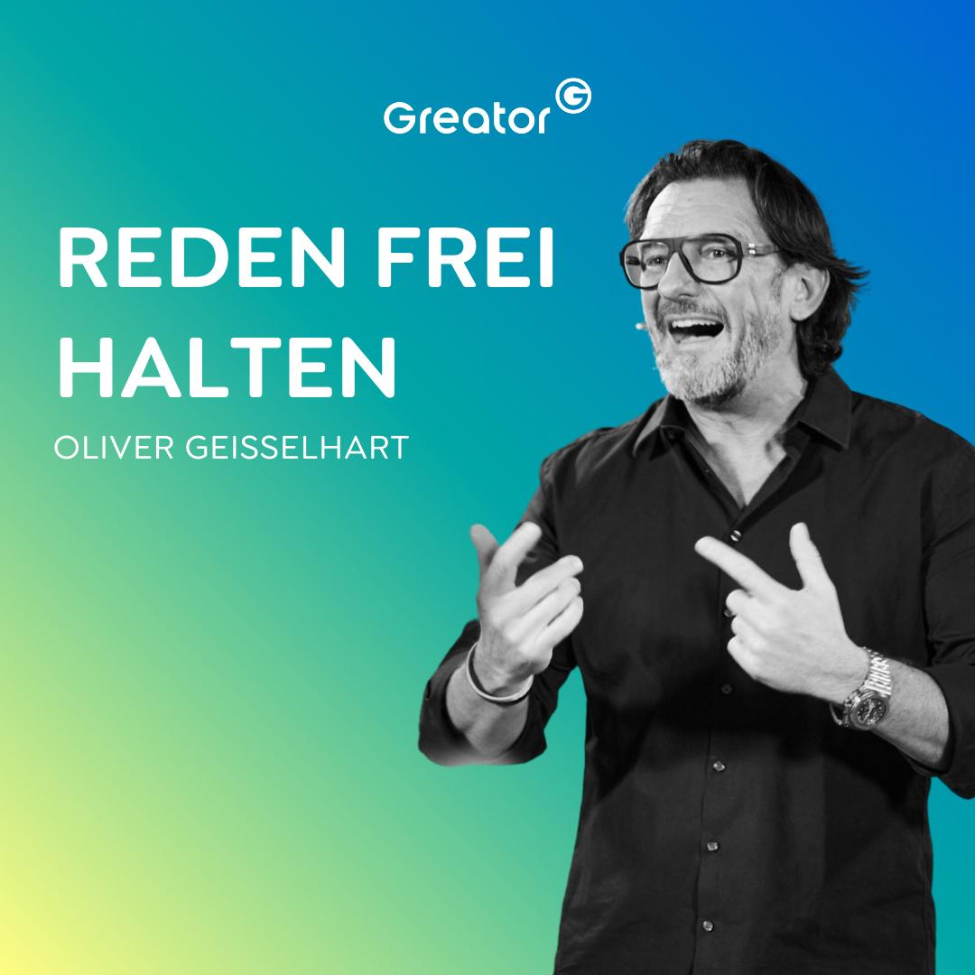 #775 So hältst du erfolgreich eine Rede // Oliver Geisselhart