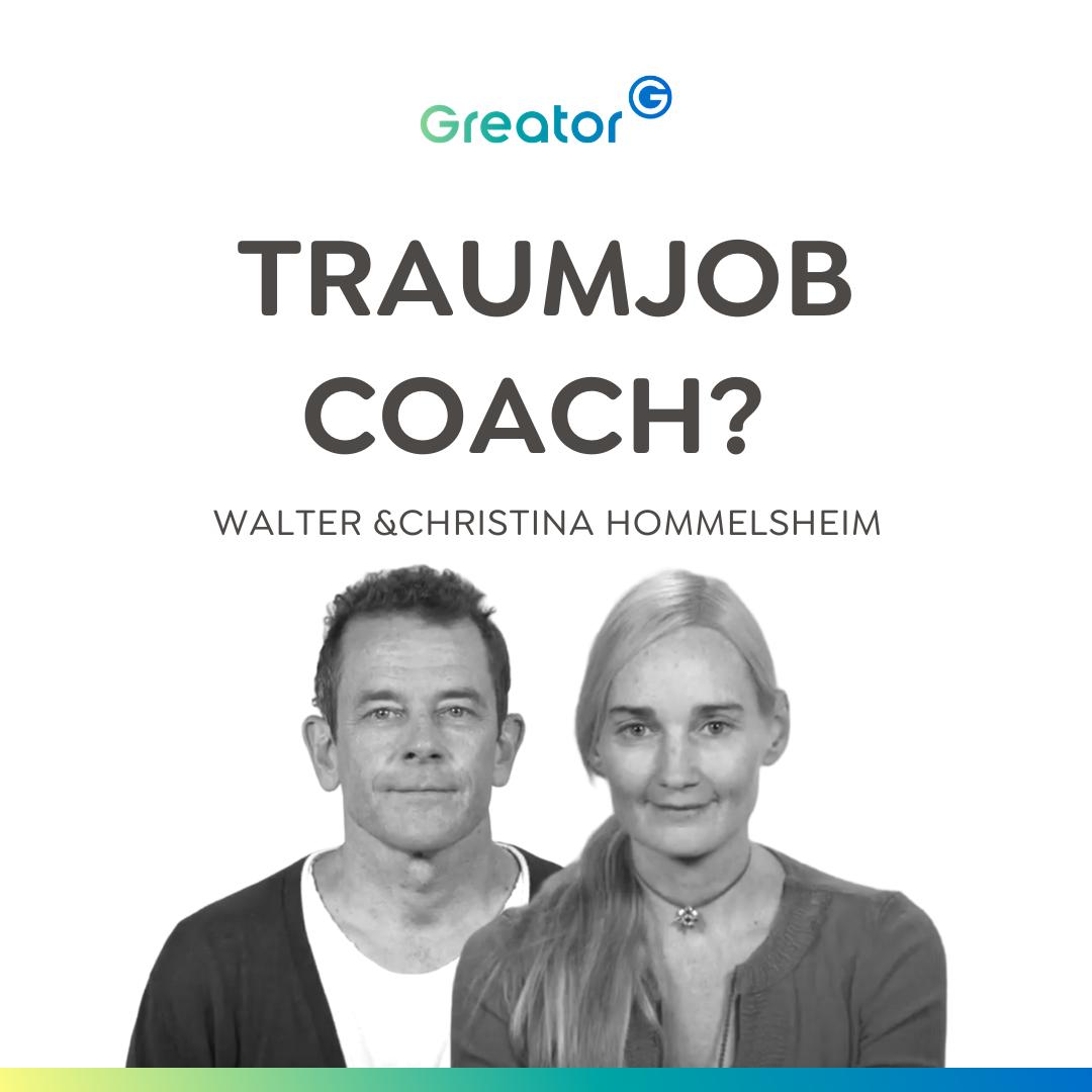 Coach werden: So kannst du Menschen zu ihrem Glück verhelfen // Christina & Walter Hommelsheim