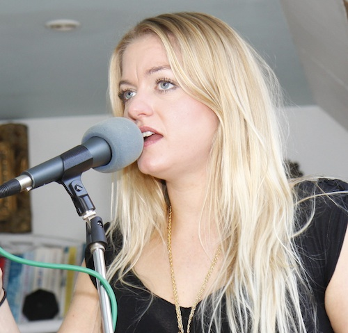 Jo Harman in session