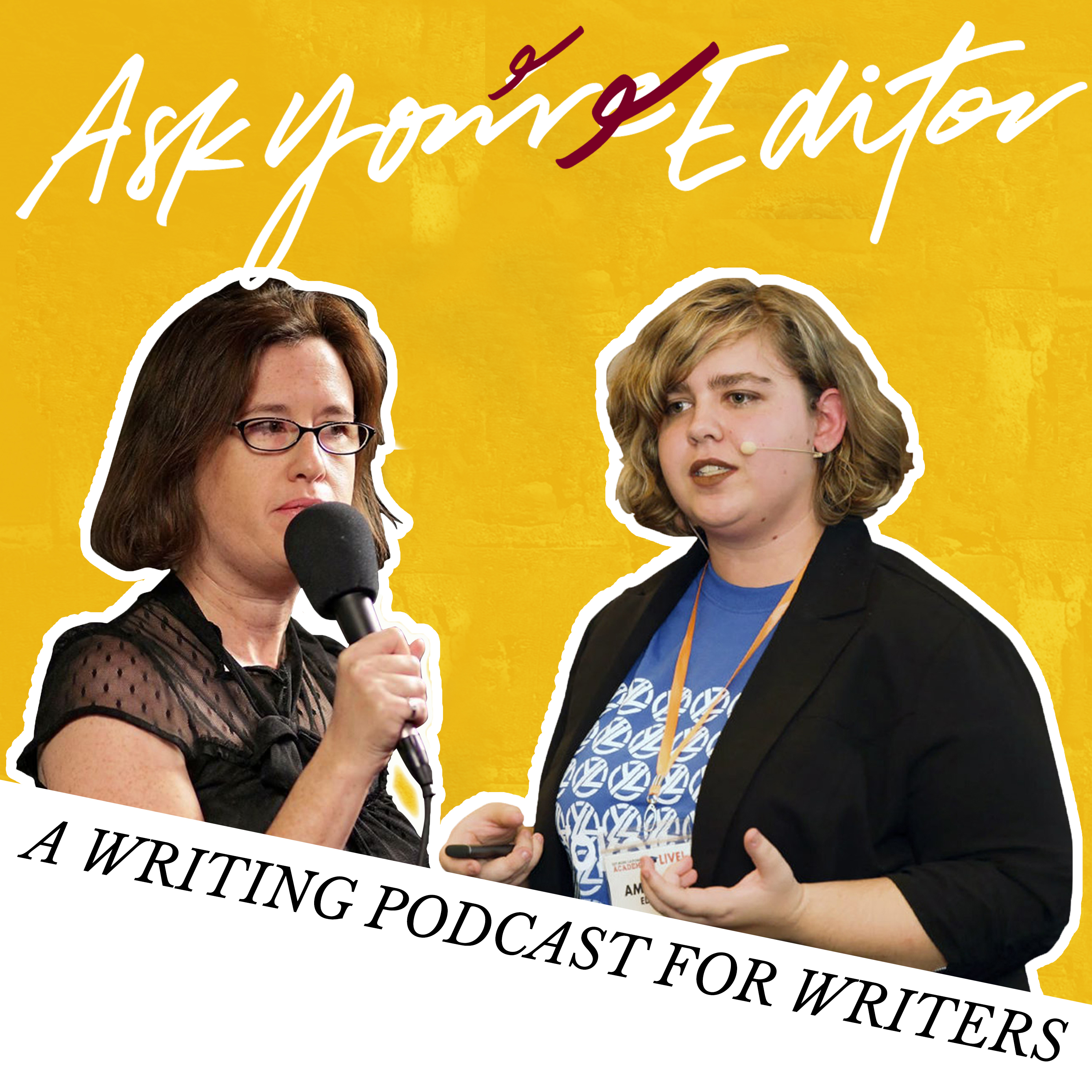 Ask Your Editor Writing Podcast show art