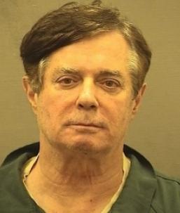 Paul Manafort, former Trump campaign chair, in recent mug shot