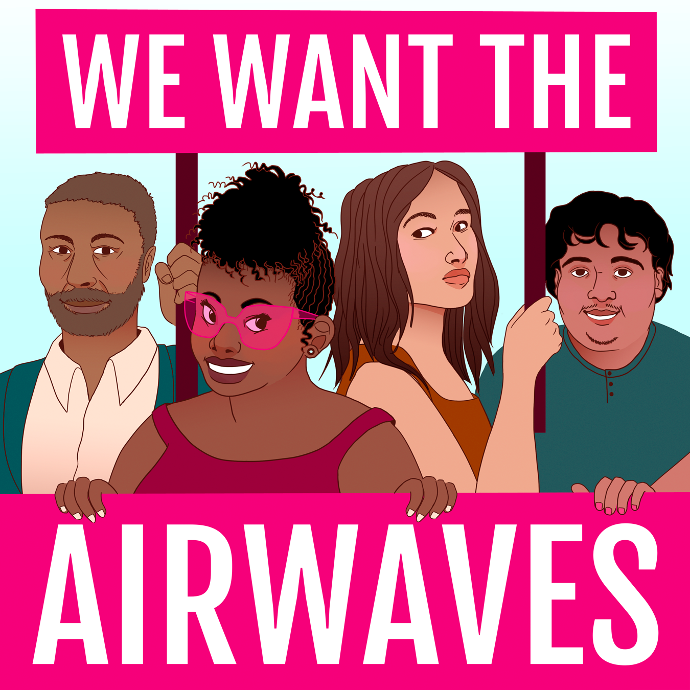 We Want the Airwaves show art