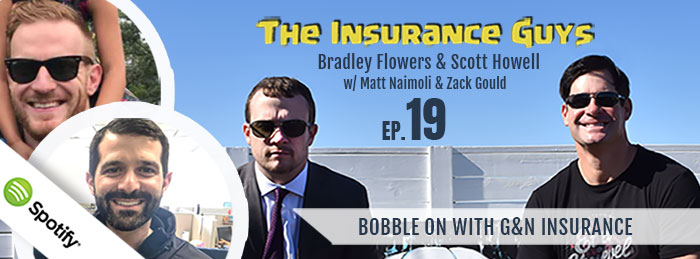 Insurance Guys Poodcast - ep.19 - Zack Gould - Matt Naimoli - referral partners
