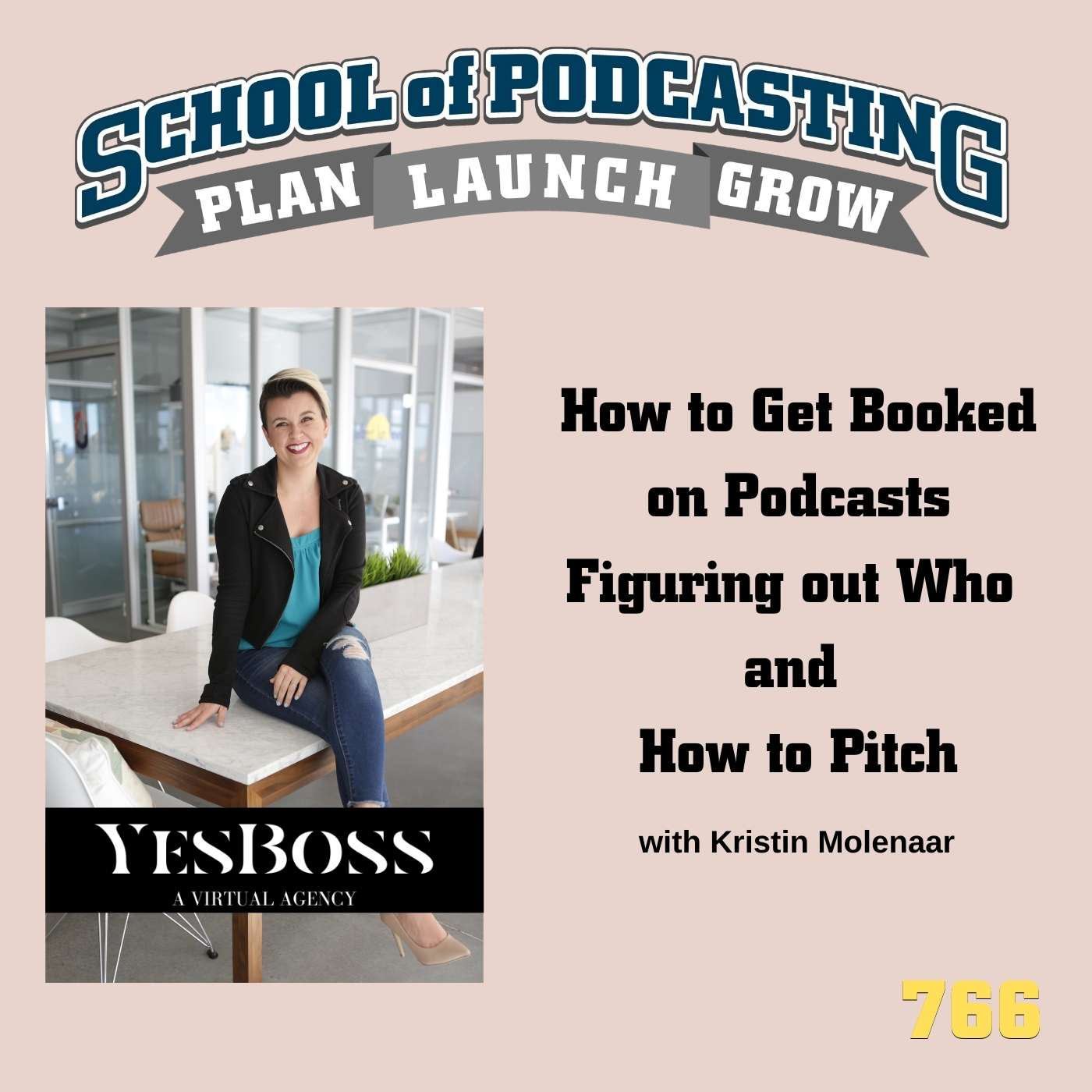 How to Get Booked on Podcasts: Figuring out Who and How to Pitch with Kristin Molenaar