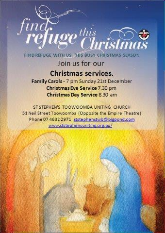Christmas Services - Find refuge this Christmas