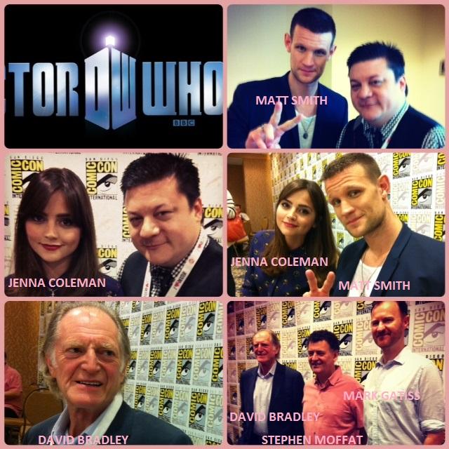 Episode 491 - SDCC: Doctor Who w/ Jenna Coleman/Matt Smith/Stephen Moffat  & An Adventure In Space & Time w/ David Bradley/Mark Gatiss