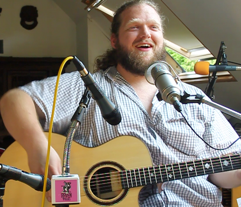 Matt Andersen in session