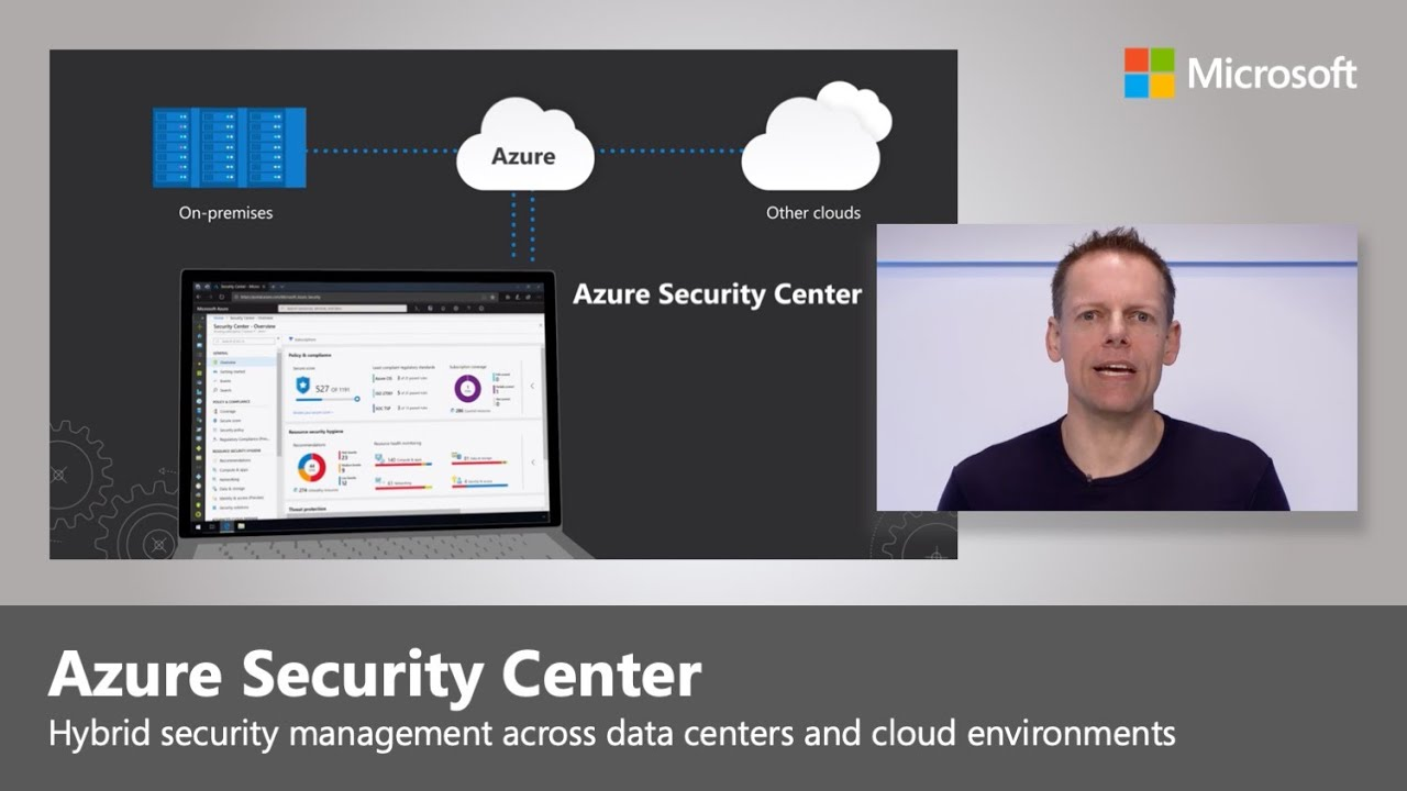 Artwork for Hybrid security management across your data center, Microsoft Azure and other Clouds