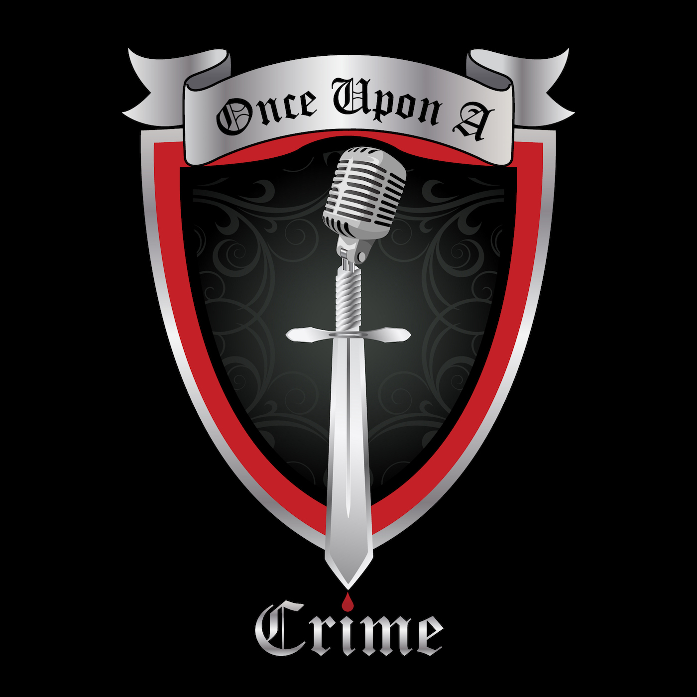 Once Upon A Crime | True Crime show art