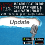 Artwork for ISO Certification for SPD Departments & AAMI/ASTM Updates: Ralph Basile