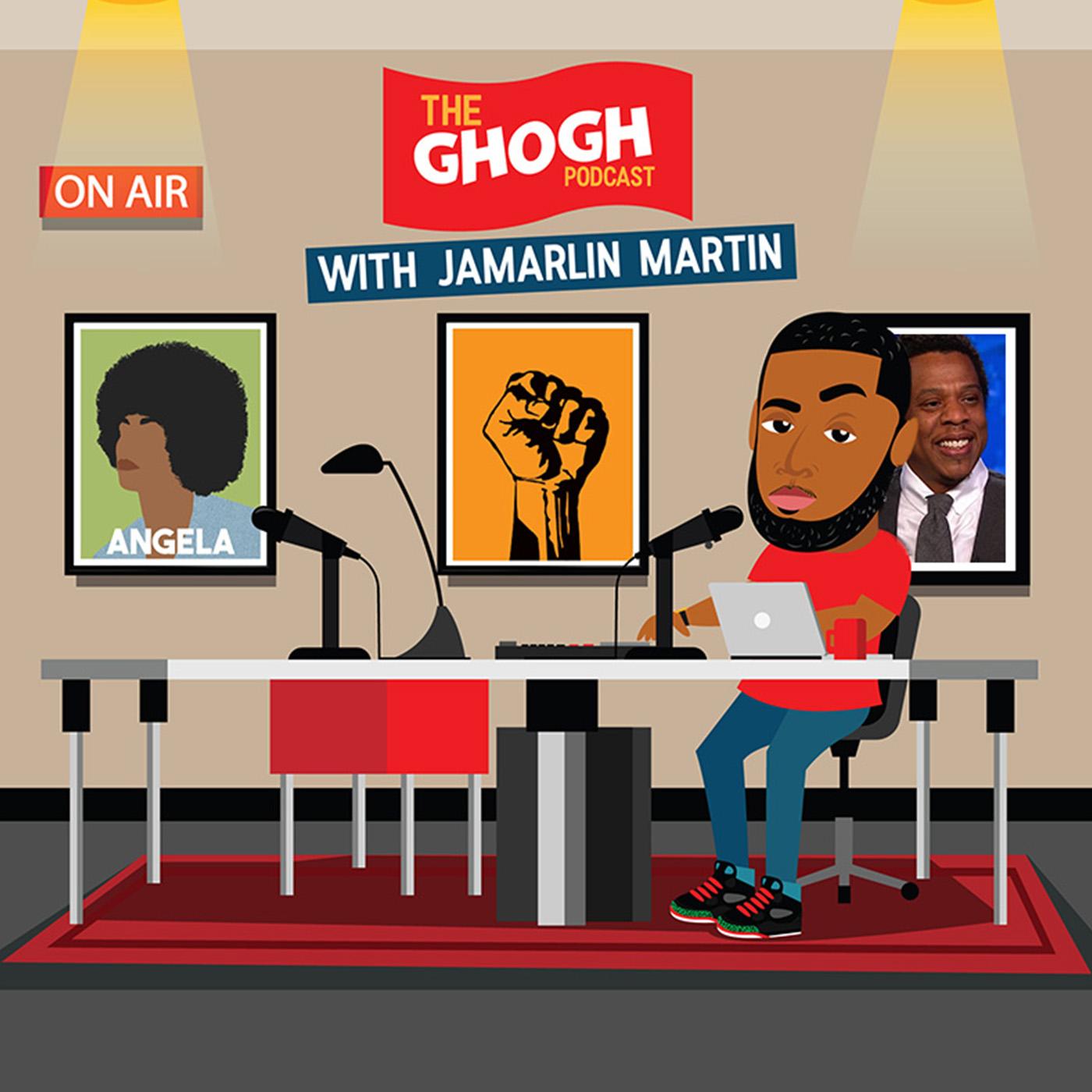 GHOGH with Jamarlin Martin show art