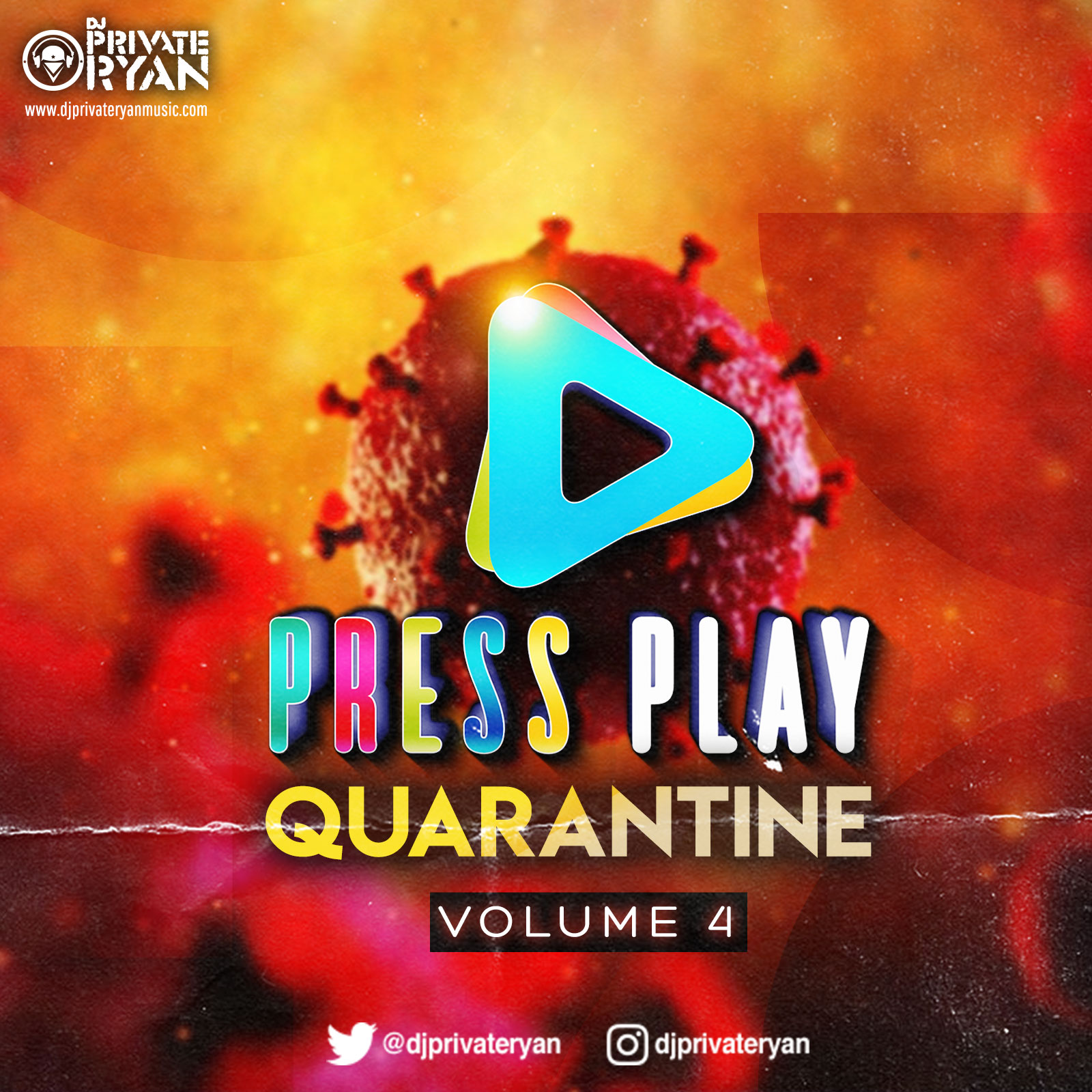 Private Ryan Presents Press Play Quarantine Volume 4 Mellow Edition (clean)