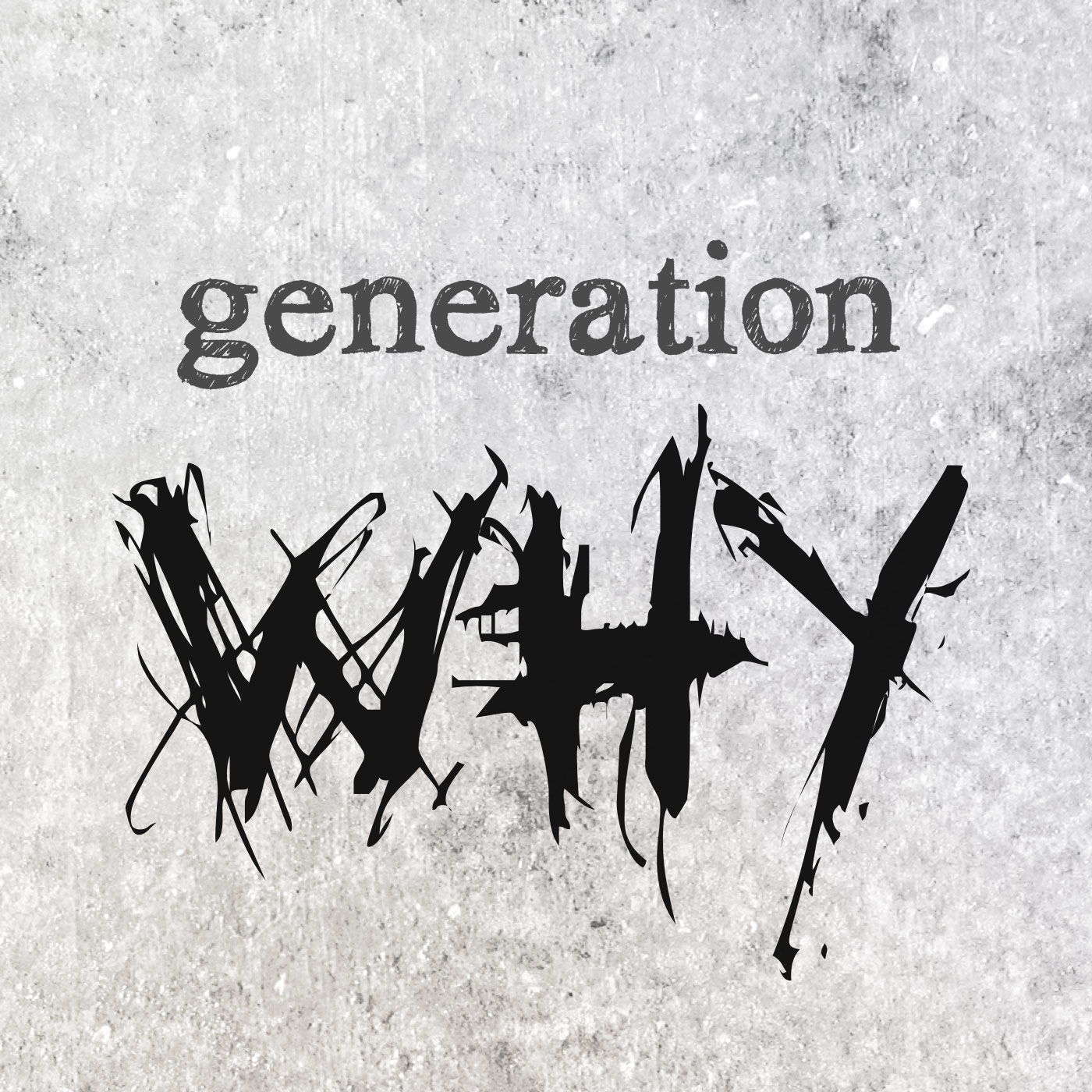 The Generation Why Podcast logo