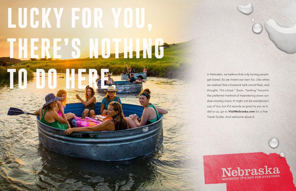 Nebraska Tourism Ad