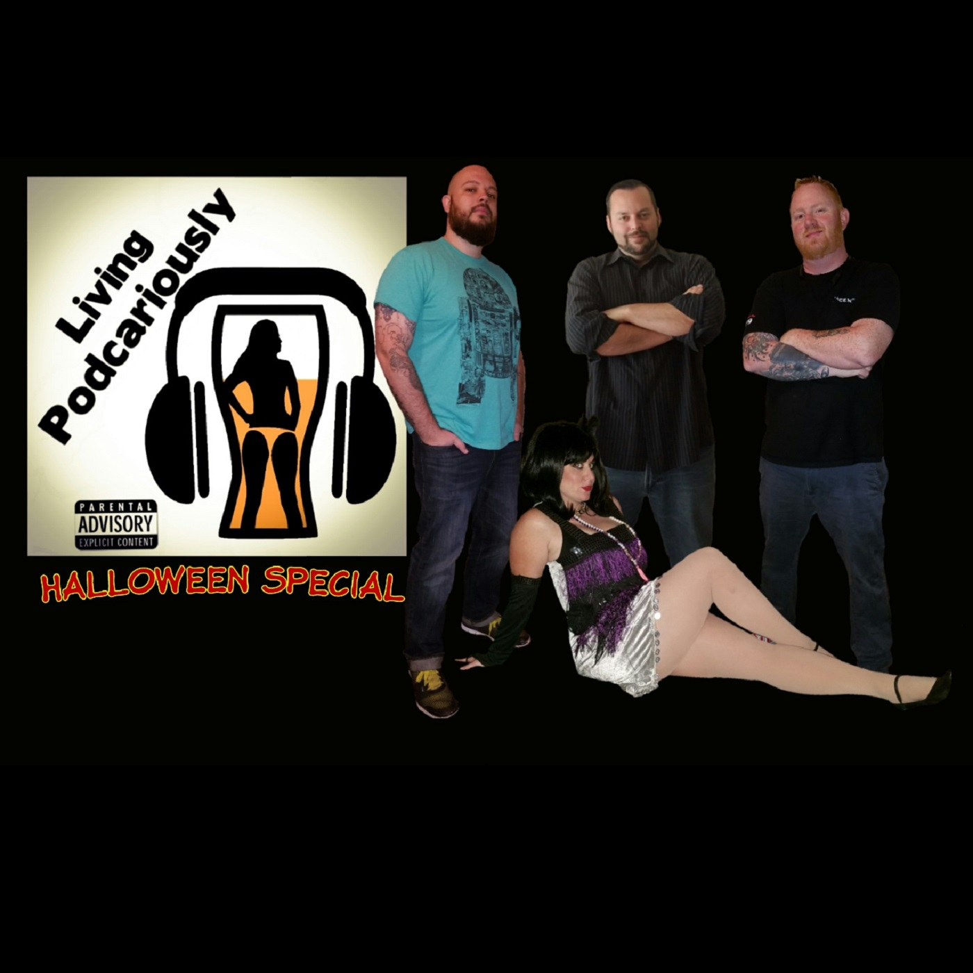 Artwork for Episode 34 - Halloween Special, Scary Stories and We Had A Party