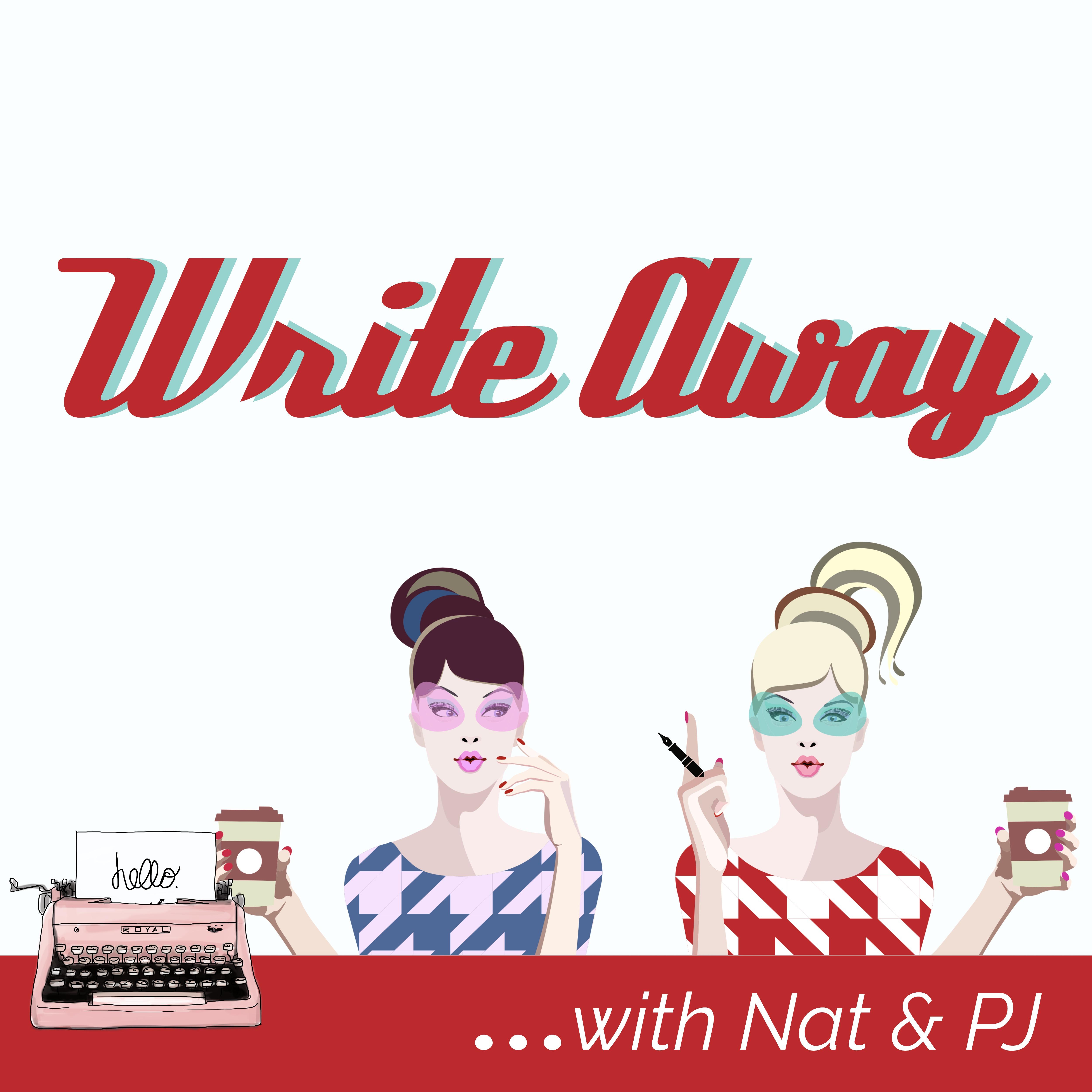 Write Away with Nat & PJ show art