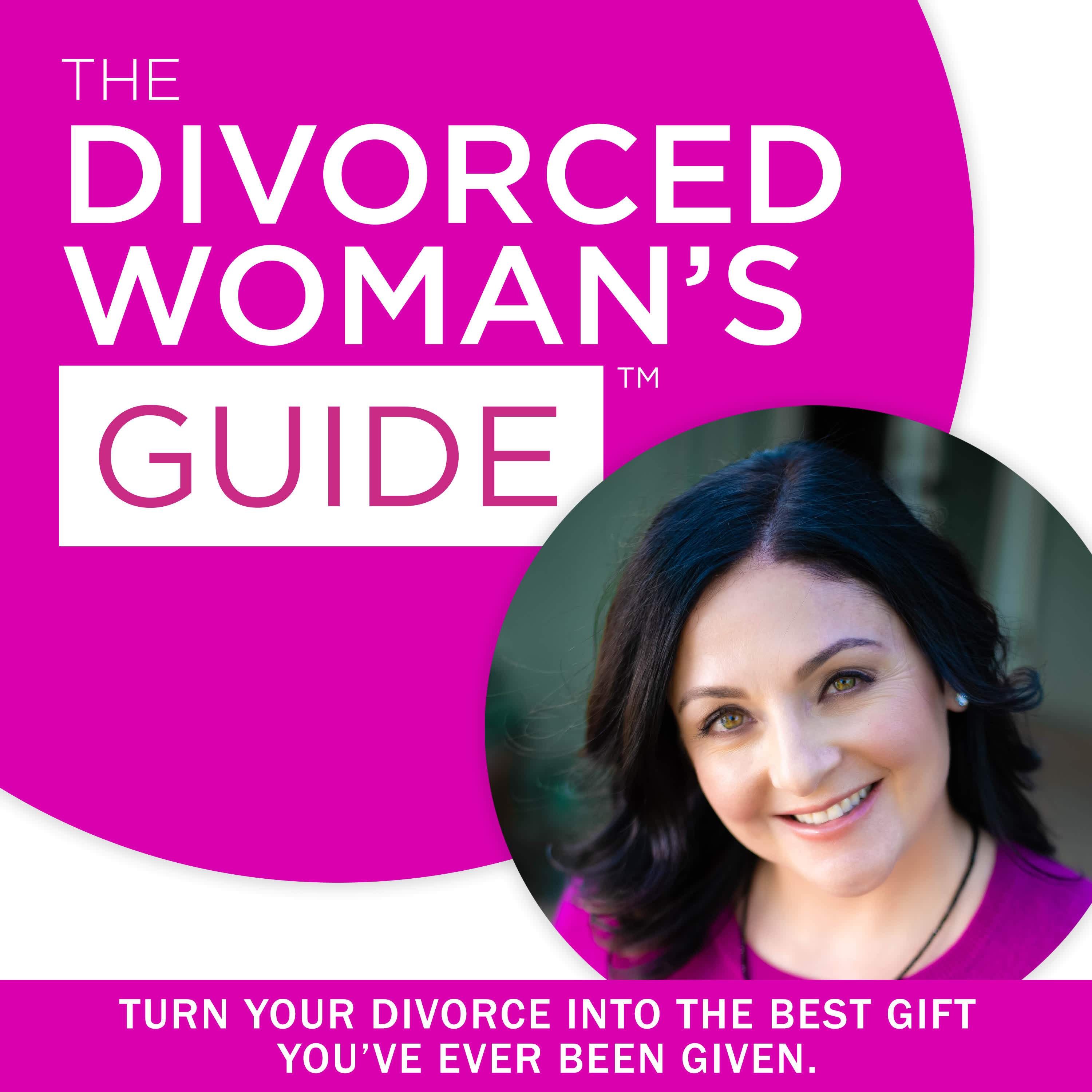 The Divorced Woman's Guide Podcast show art