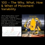 Artwork for 100 – The Why, What, How & When of Movement Variability