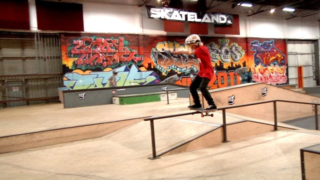 Artwork for Teenage Riot Skateboard Event - ISKB:154