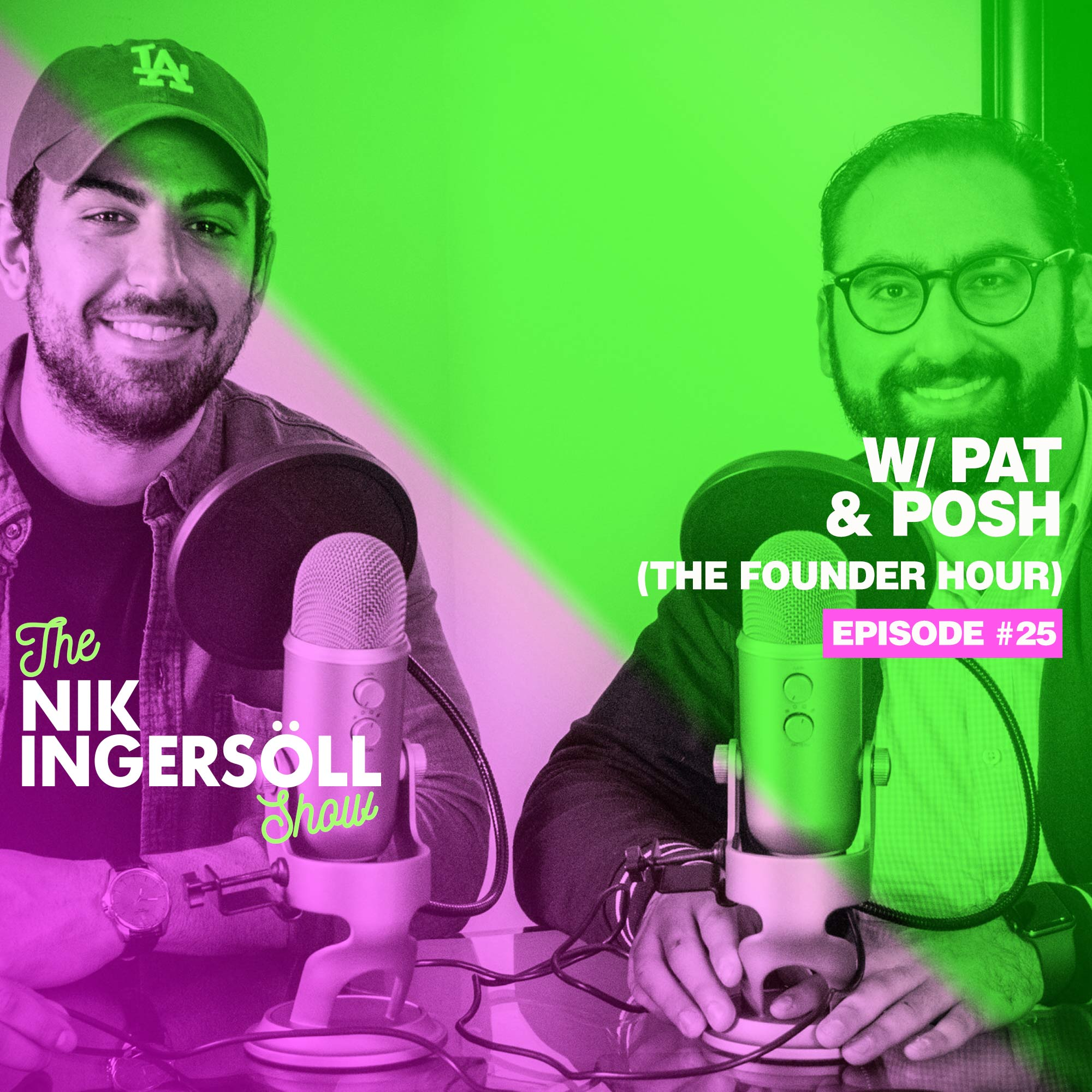 Pat & Posh - The Founder Hour Podcast