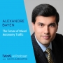 Artwork for The Future of Mixed-Autonomy Traffic with Alexandre Bayen - #303