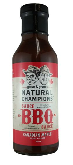It's time for a truly Canadian barbecue sauce!