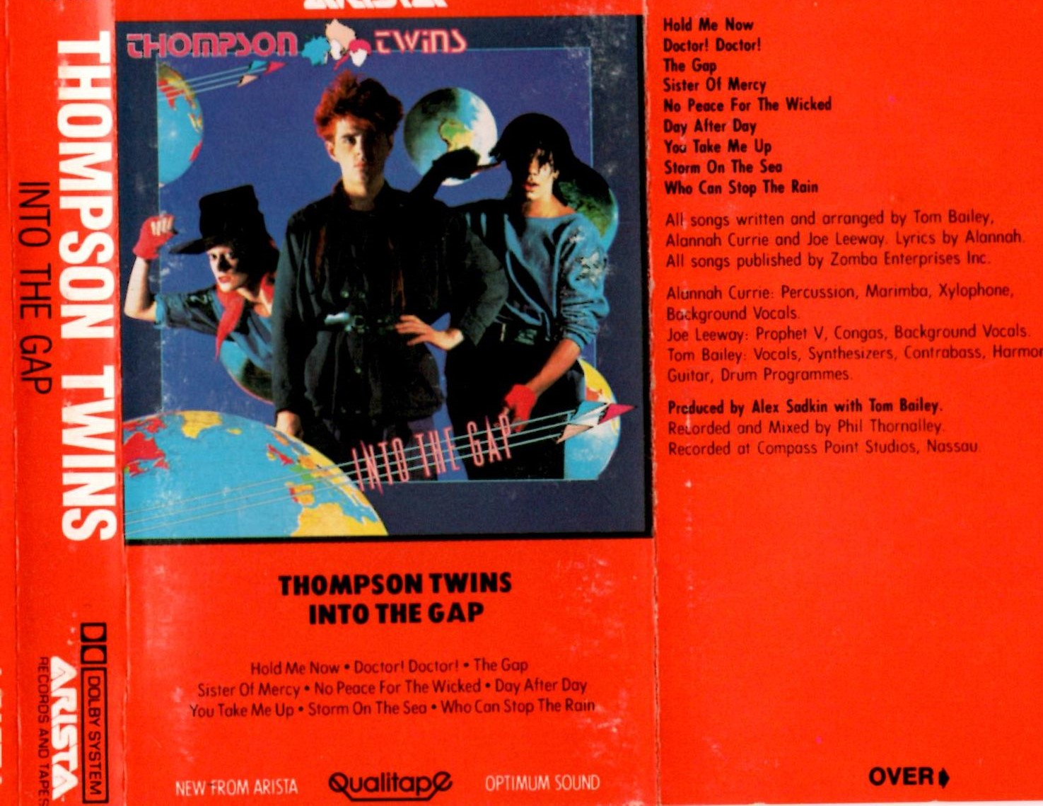 Permanent Record Podcast: Thompson Twins - Into The Gap (1984) Part 1
