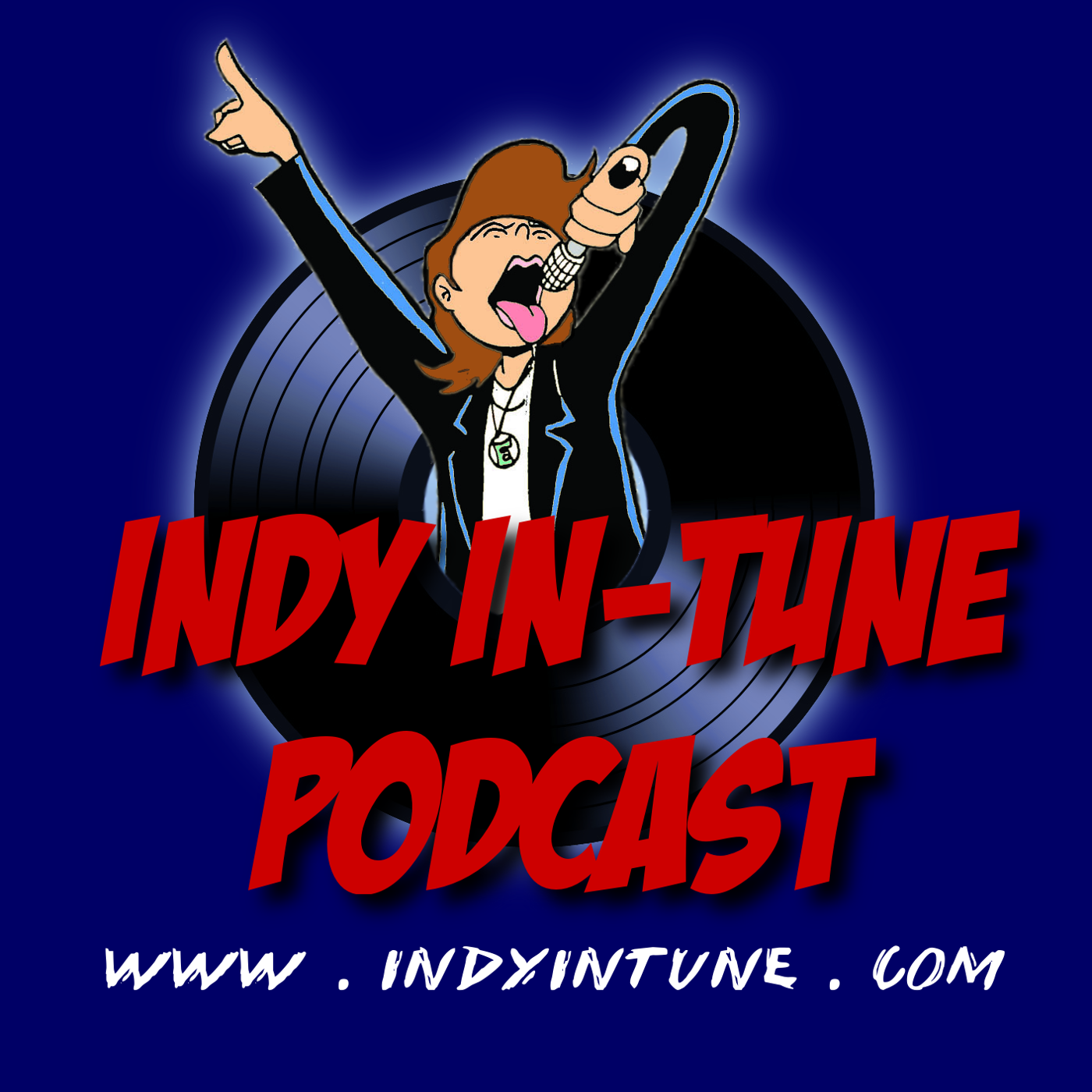 The Indy In-Tune Podcast show art