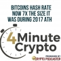 Artwork for Bitcoins Hash Rate Now 7x The Size It Was During 2017 ATH
