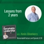 Artwork for Lessons from 2 Years with Kevin Eikenberry