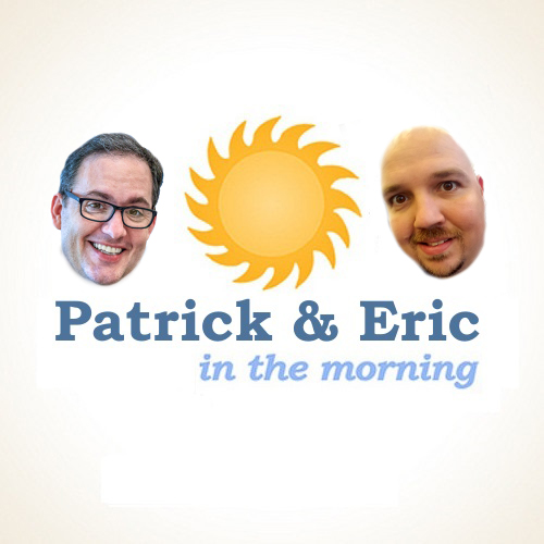 12 - Patrick and Eric in the Morning - Hosting a Game Day show art
