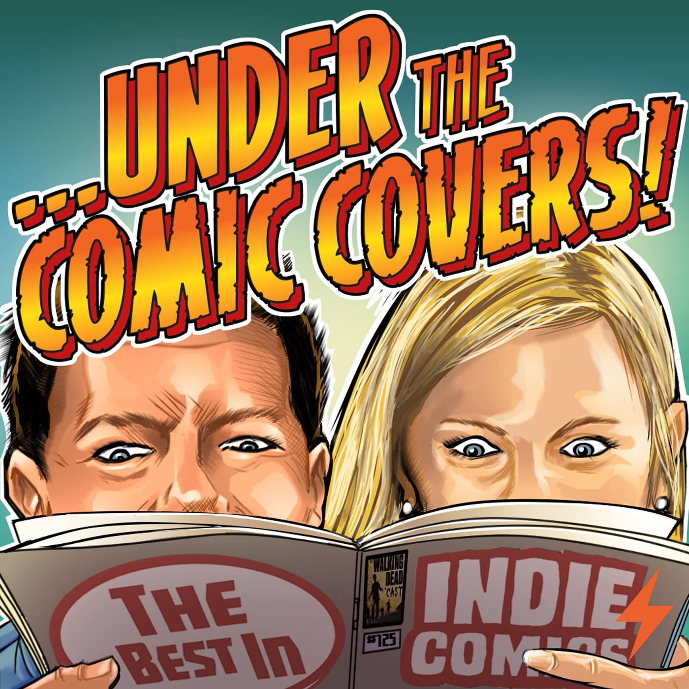 Under the Comic Covers show art