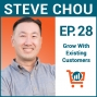 Artwork for Genius Ways to Increase Sales Without Launching New Products with Steve Chou, Ep #28
