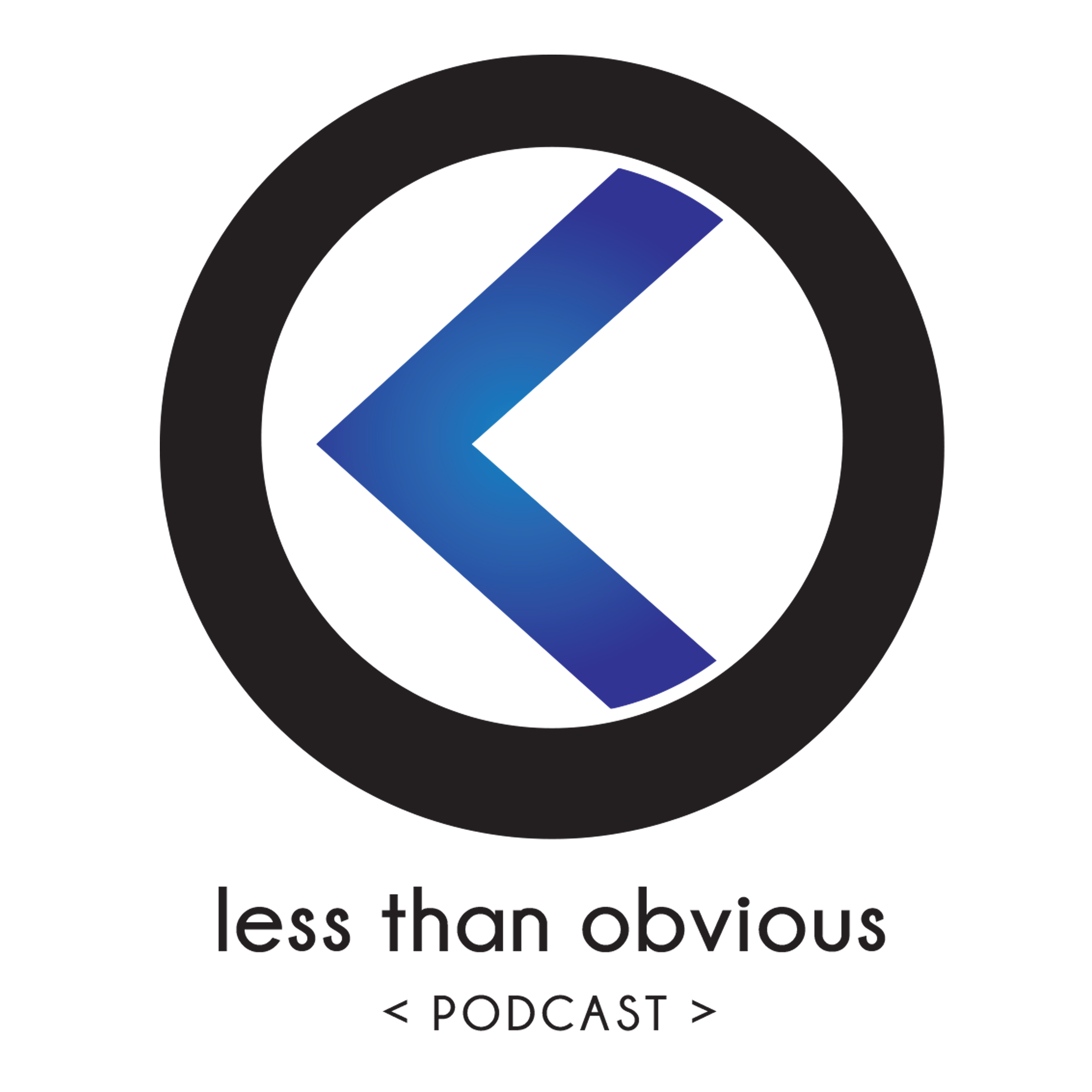 The Less Than Obvious Podcast show art