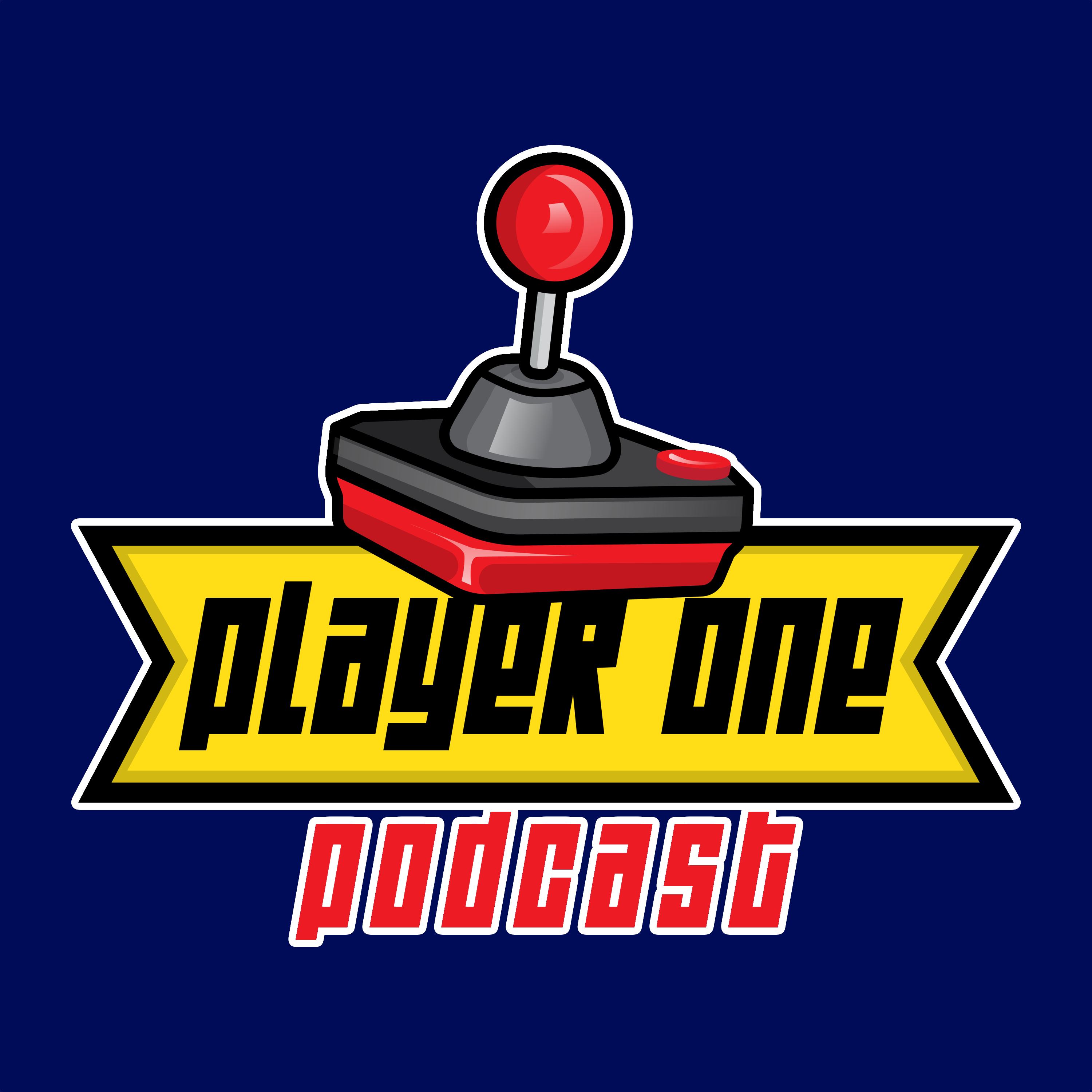 Player One Podcast show art