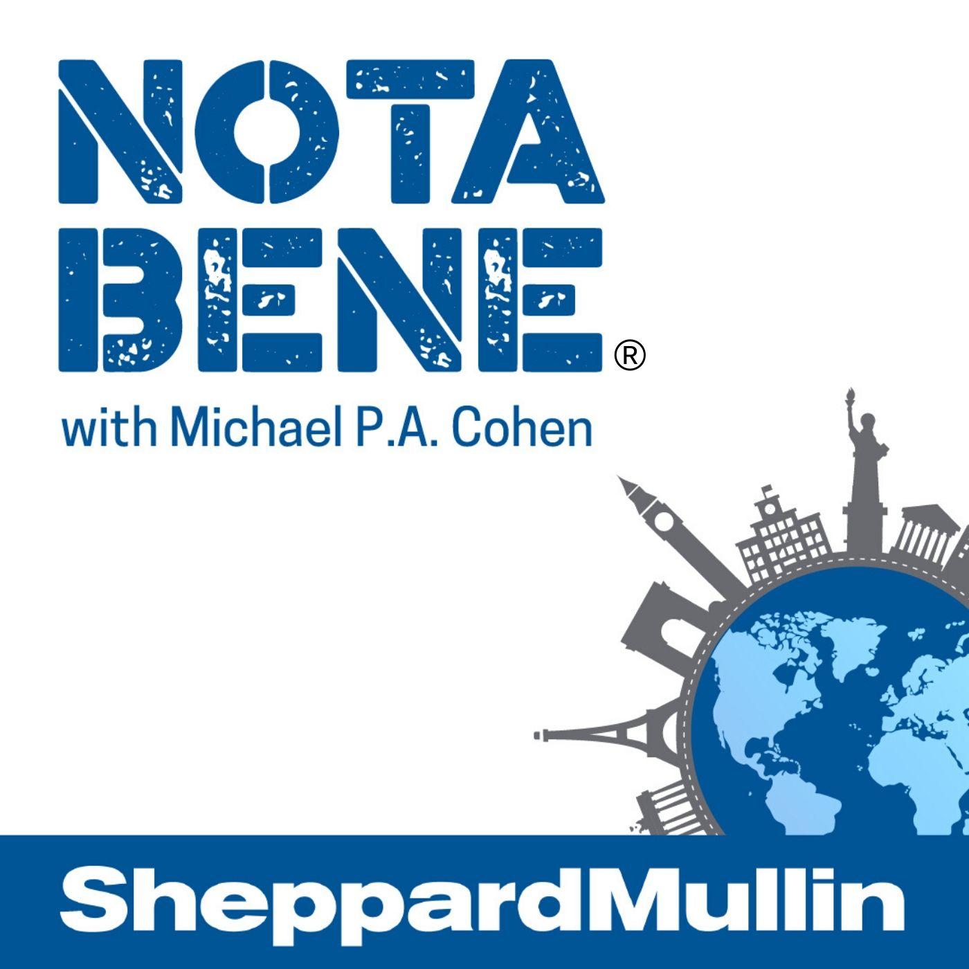 Sheppard Mullin's Nota Bene show art