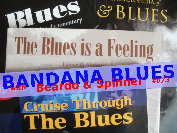Bandana Blues #673 Mo' Vinyl & LIVE Tunz!!