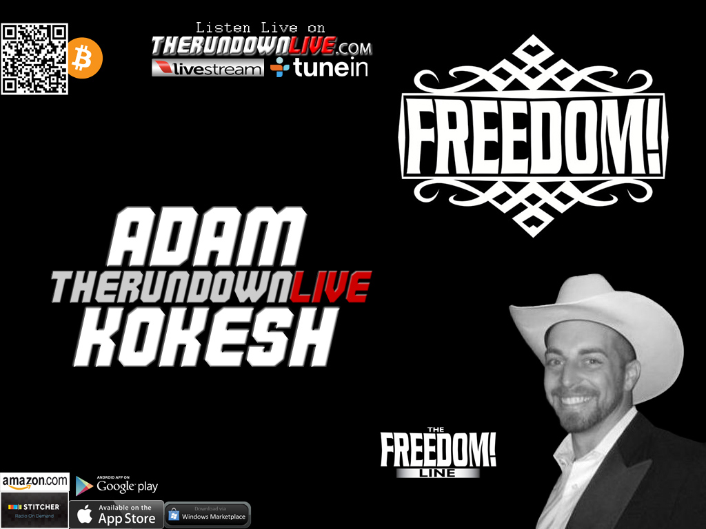 The Rundown Live #338 Adam Kokesh (Sentencing,RV Tour,Ninja Turtles)