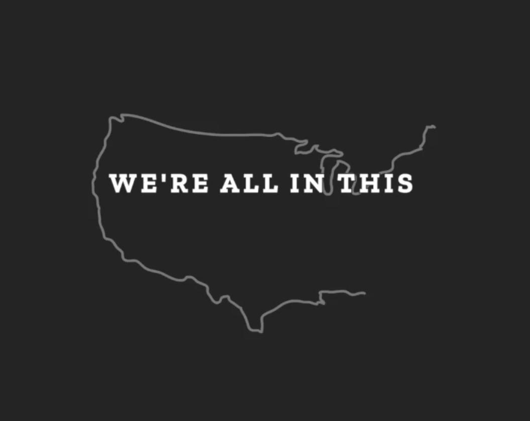 """""""We're"""