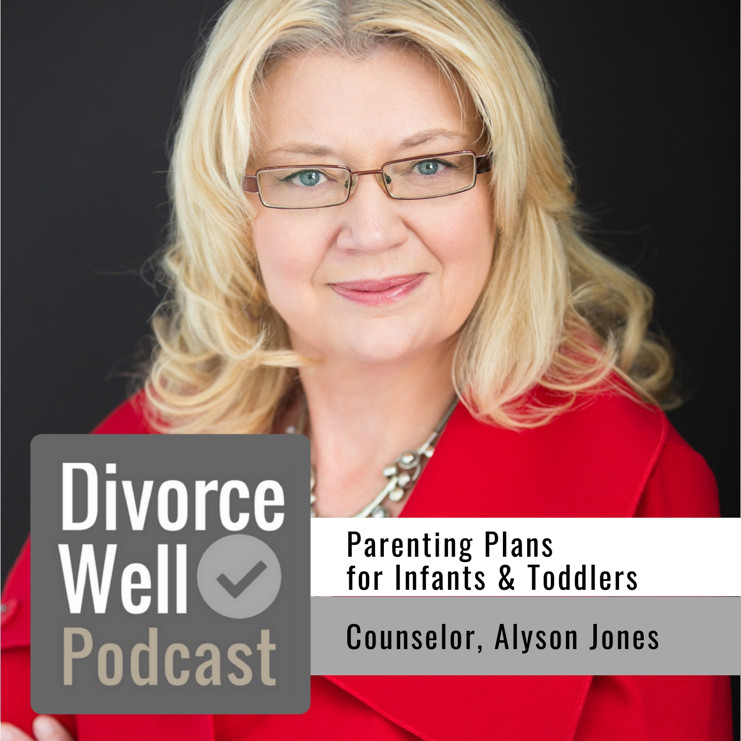The Divorce Well Podcast - 28 - Parenting Plans for Infants & Toddlers, with Counselor Alyson Jones