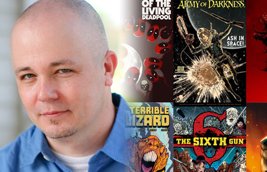 Cullen Bunn, writer of The Sixth Gun, Magneto, Helheim, and Deadpool