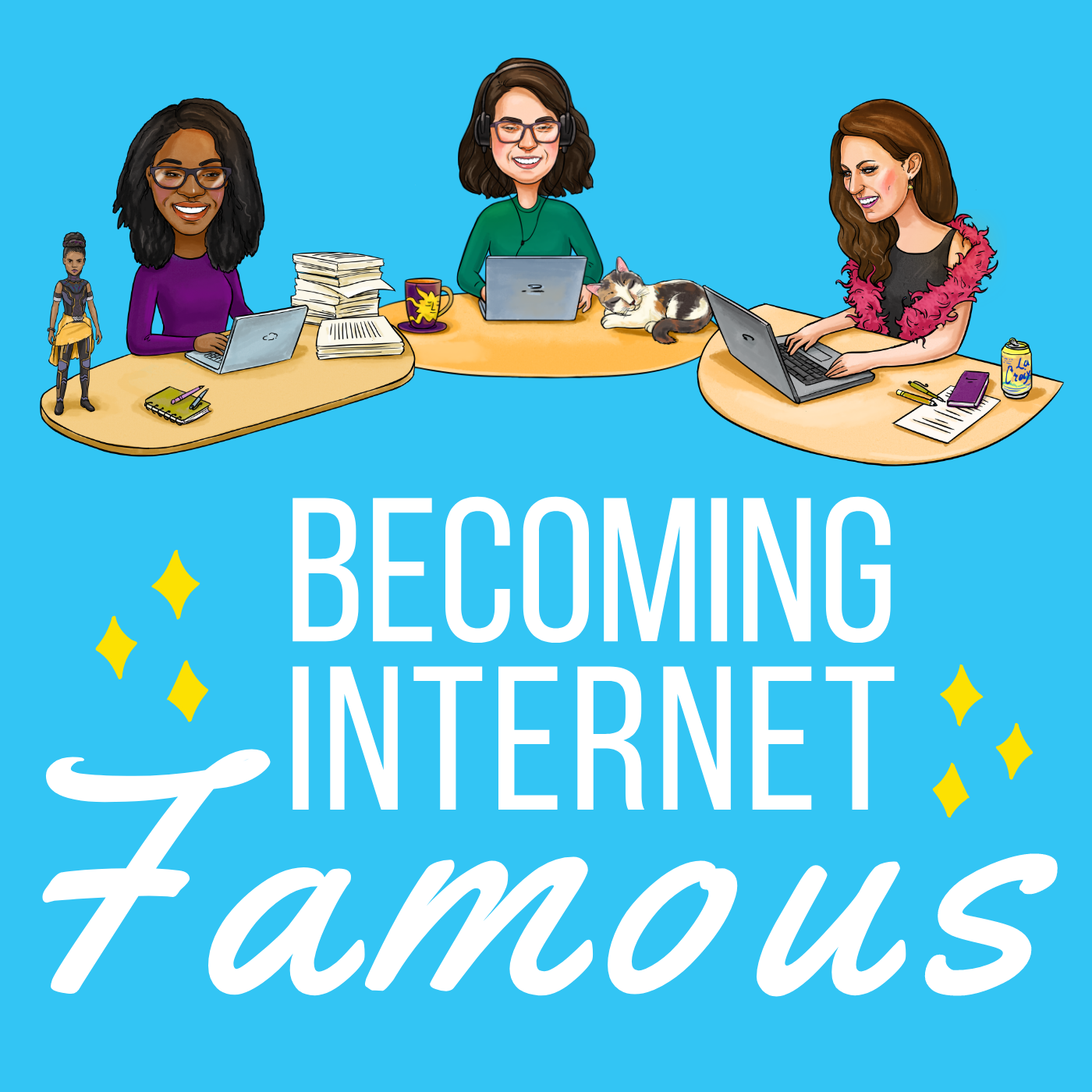 Becoming Internet Famous Podcast show art
