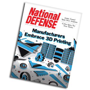 Artwork for 3D Printing Promises to Revolutionize Defense, Aerospace Industries — March 2014